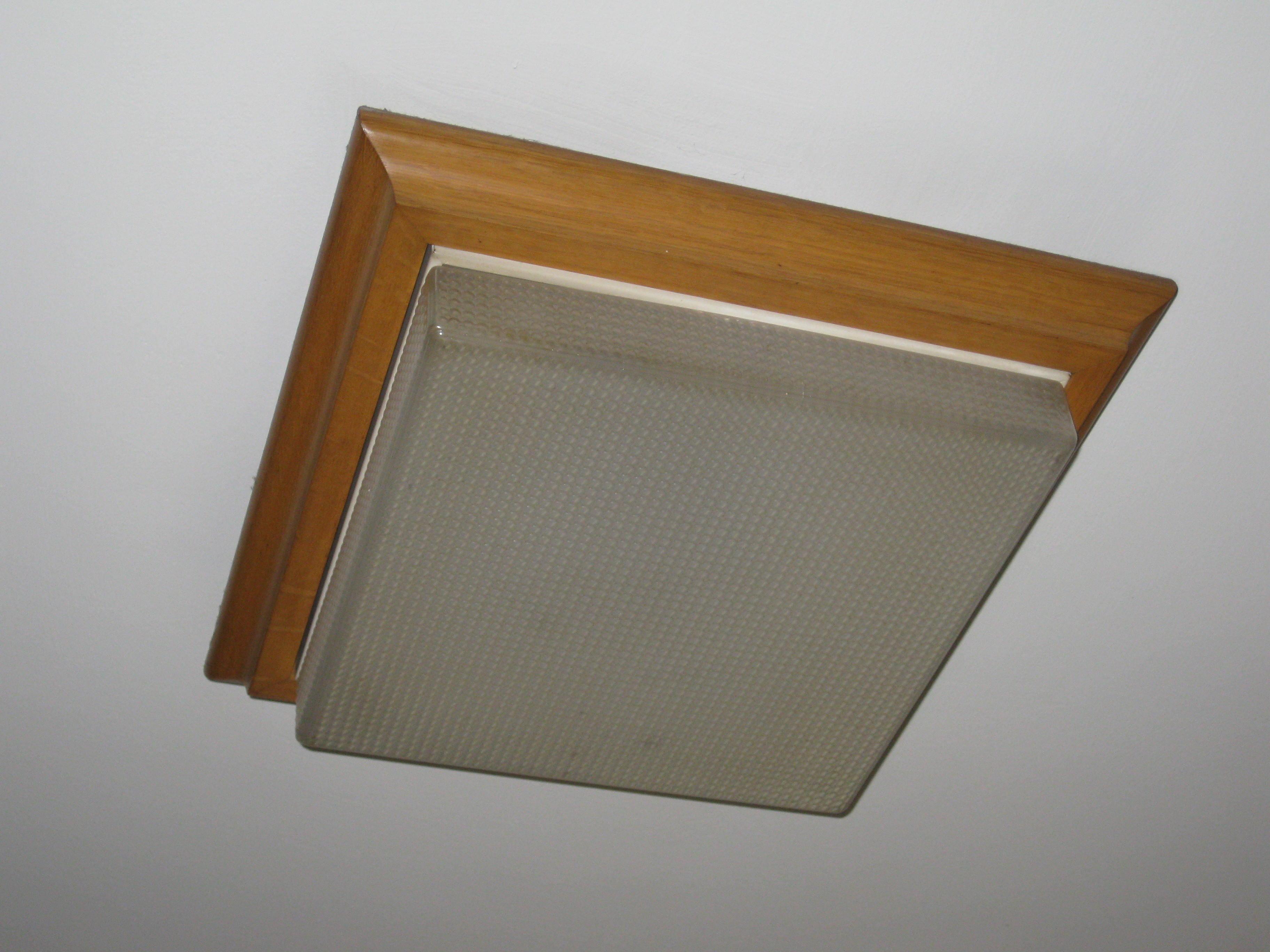 Plafoniere In Legno : Acquista plafoniera filiz in legno e cemento lampadine led
