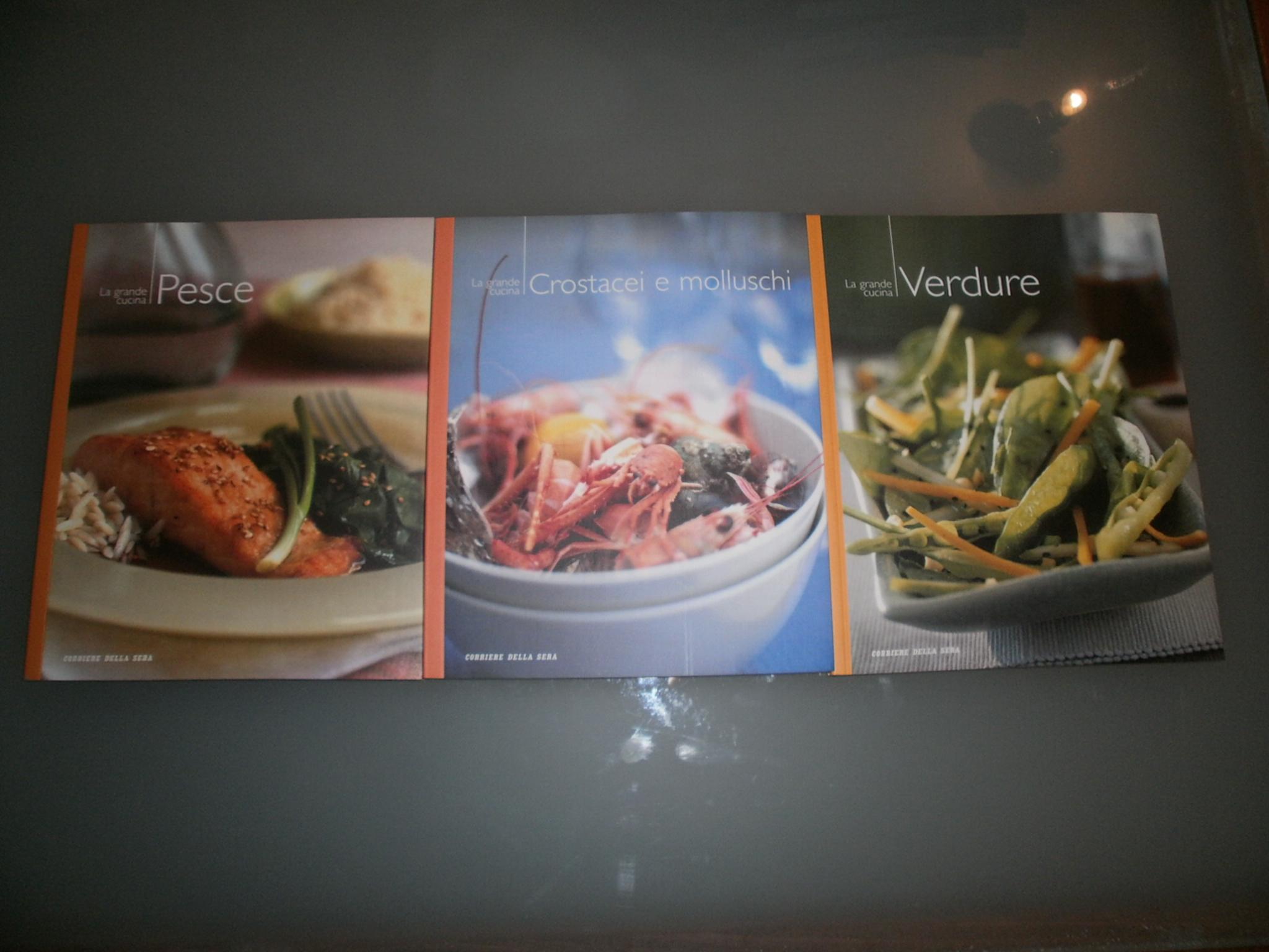Libri di cucina divisi per piatti utileusato for Libri di cucina per principianti